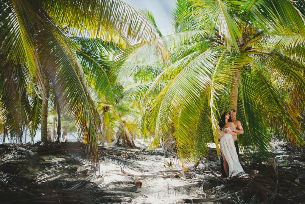 honeymoon punta cana photo session